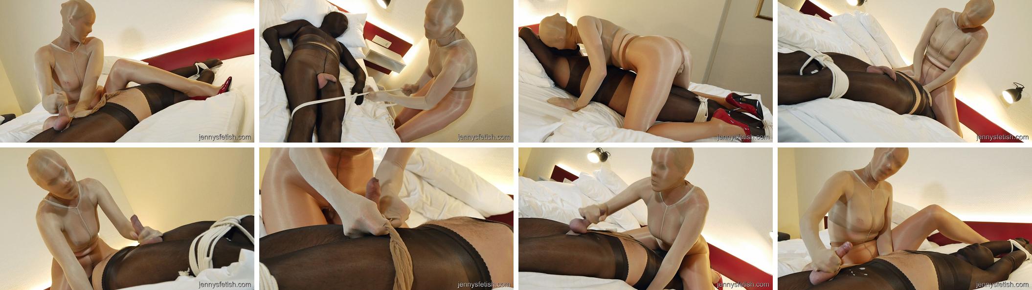 Collage pantyhose movies